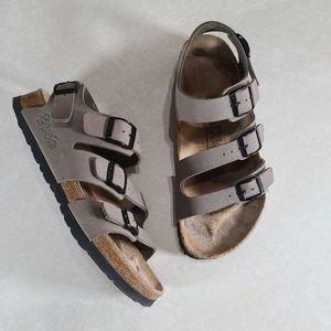 Birkis by Birkenstock Three Strap Slingback Sandal